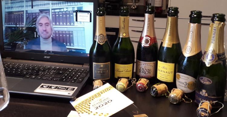 6 Champagne nella mezzina: le degustazioni al tempo del covid19