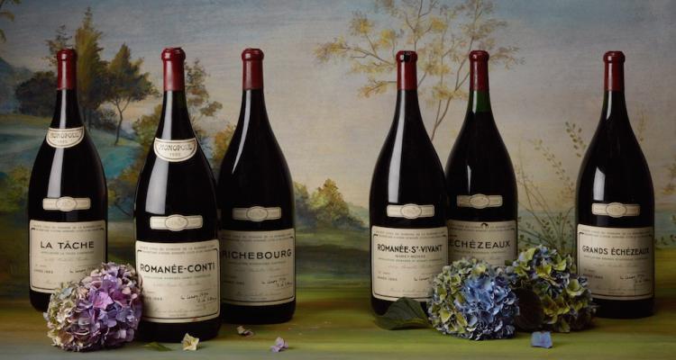 Aste| Record per la collezione Pinchiorri: 835.000 euro per un lotto di Romanée Conti