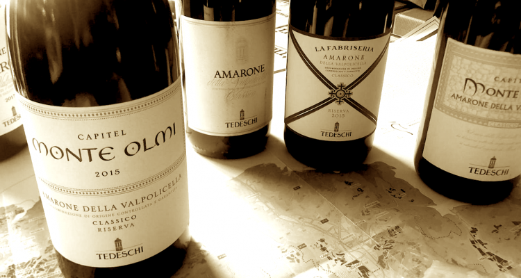 L'Amarone della Valpolicella e il suo scent mapping: l'approccio di Tedeschi