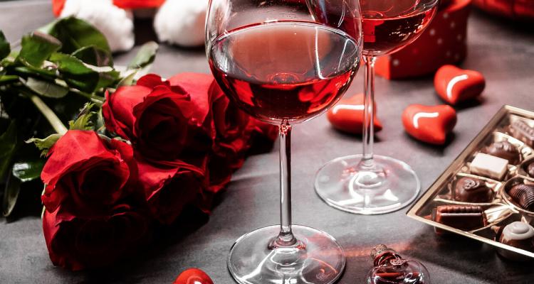 Gli ineluttabili vini per San Valentino
