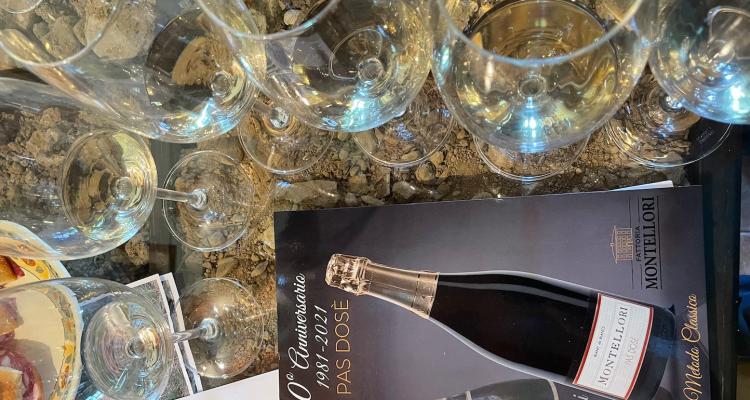 Montellori e quei quarant'anni di chardonnay metodo classico in Toscana