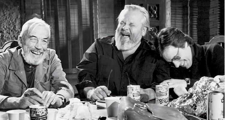 Ridere di Orson Welles ubriaco o guardare il suo ultimo film ritrovato?