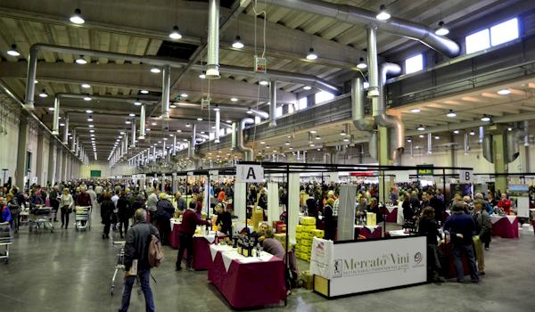 Come si degusta in Fiera: al Mercato dei Vini ad esempio