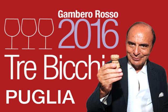 I Tre Bicchieri Puglia 2016 del Gambero Rosso: entra Bruno Vespa, esce Gianfranco Fino