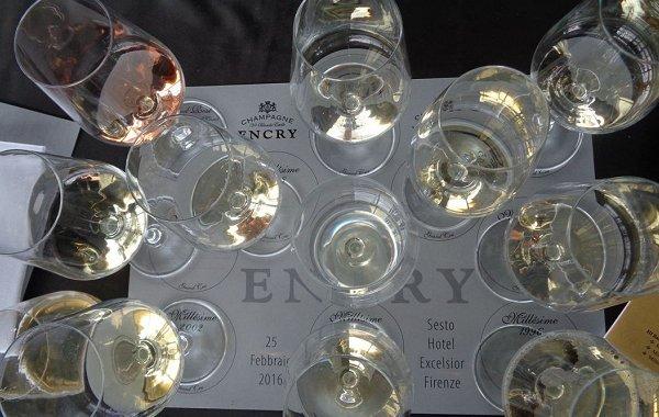 """Encry, la prima verticale 2009-1996 dello Champagne """"italiano"""""""