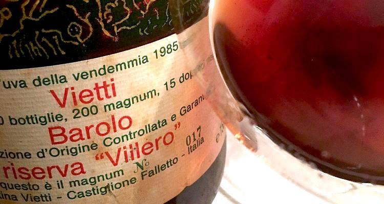 Barolo Riserva Villero, da Vietti una verticale tra due epoche: 1985-2010