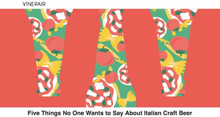 Le criticità della birra artigianale italiana viste dall'estero. Evan Rail su Vinepair