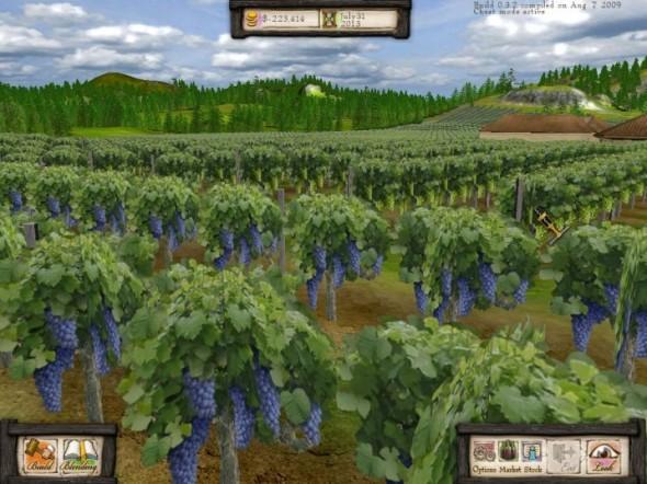 Wine Tycoon - un'altra schermata del gioco