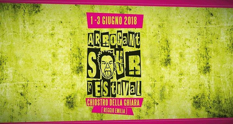 L'acida creatività dell'Arrogant Sour Festival 2018 di Reggio Emilia