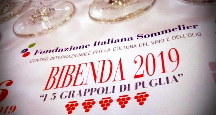 Bibenda day 2019: cose buone dalla Puglia