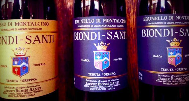 Il Gattopardo a Montalcino: Biondi Santi Tenuta il Greppo 2013 e Riserva 2006 e 1995