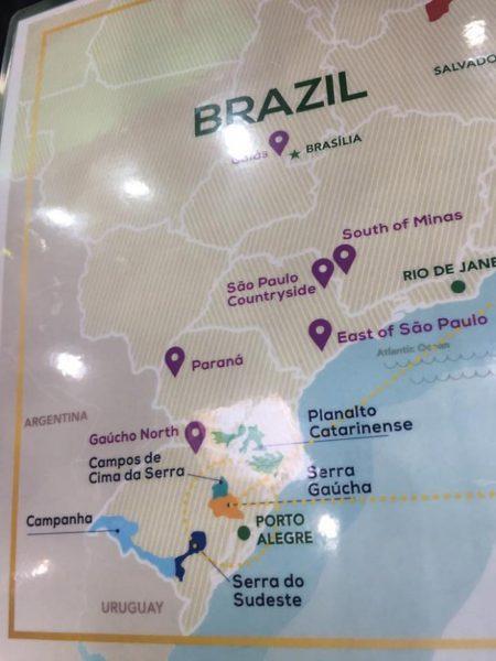 bollicine brasiliane - mappa