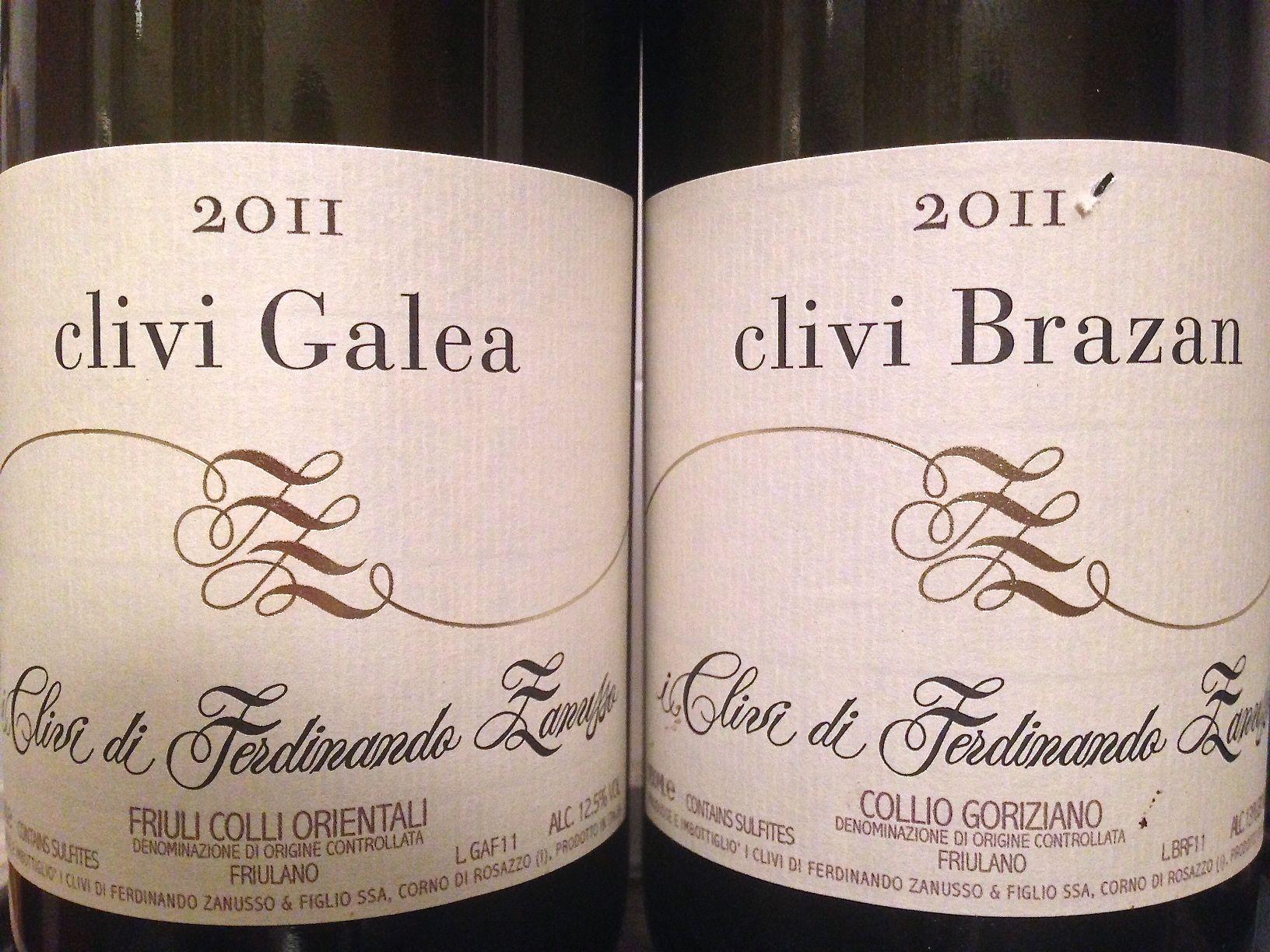 Ho bevuto due Friulano -Galea e Brazan- I Clivi e mi sono gasato. Intervista a Mario Zanusso inclusa