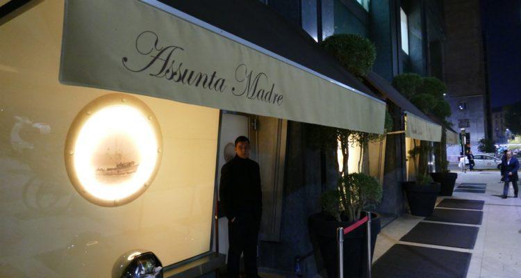 Mangiare a Milano: il pesce da Assunta Madre è freschissimo, il cliente un po' meno