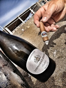 flor de ynclan cigar champagne larmandier bernier tradition