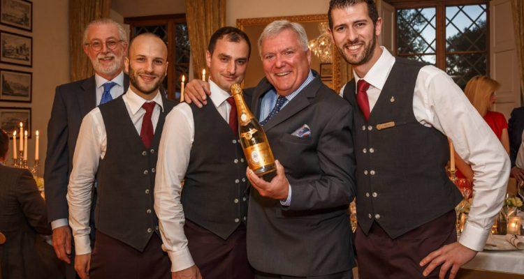 Scuola di abbinamento Champagne: Vito Mollica e Walter Meccia con Cristal Louis Roederer
