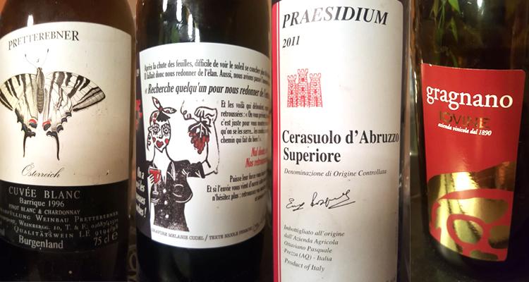 Il vino del due gennaio