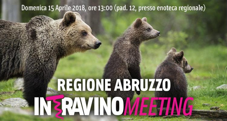 Recall: l'Intravino Meeting è fissato per Domenica 15 aprile alle 13. Ci si vede nel Padiglione dell'Abruzzo