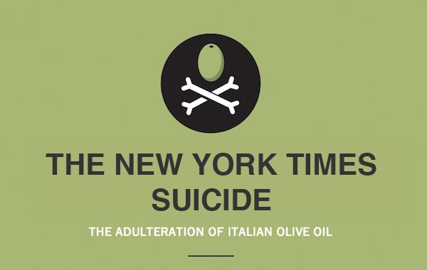Il New York Times contro l'olio italiano. E se a suicidarsi fosse l'informazione?