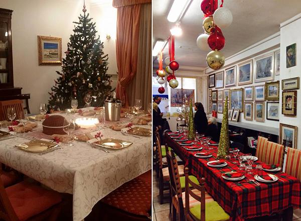 La tavola imbandita per le feste intravino for Foto tavole natalizie
