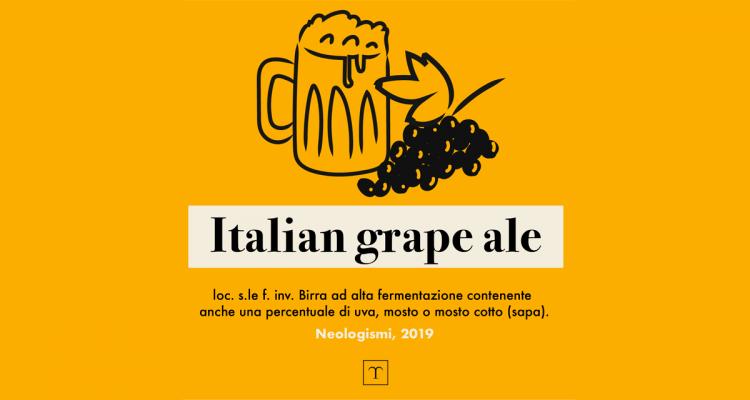 Nessuno tocchi le Italian Grape Ale