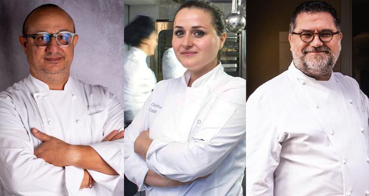 Il vino e la ristorazione #1: Caterina Ceraudo, Ciccio Sultano e Angelo Sabatelli
