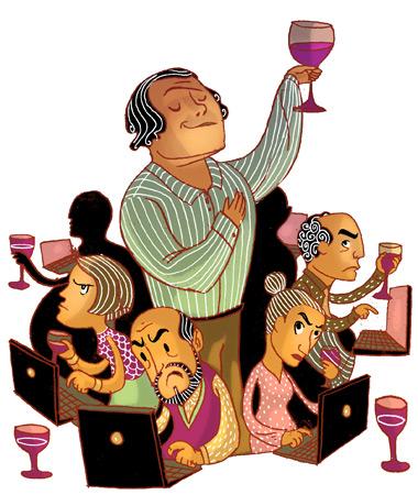 Wine critics